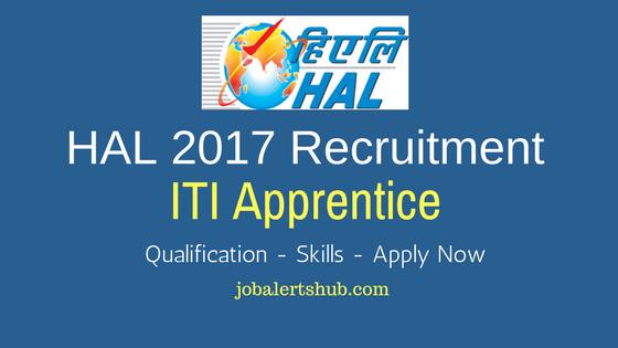 HAL 2017 Recruitment ITI Apprentice for Lucknow location