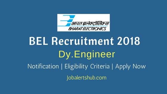 BEL-Recruitment-Deputy-Engineer-2018-Notification
