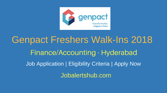 Genpact-Walk-In-Freshers-Hyderabad-2018-Finance-and-Accounting-Job-Notification