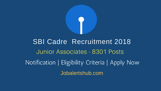 SBI-Junior-Associates-2018-Recruitment-Notification-For-Customer-Support-And-Sales