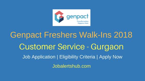 Genpact-Customer-Service-BPO-Freshers-Jobs-In-Gurgaon-Job-Announcment