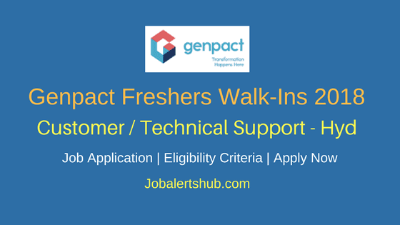 Genpact-Walk-In-Freshers-Jobs-2018-Hyd-For-Customer-Technical-Support