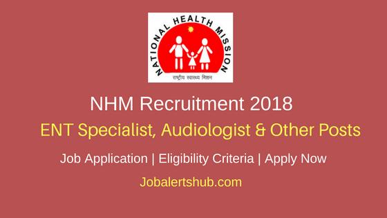 NHM ENT Specialist, Audiologist, & Audiometric Assistant Recruitment 2018