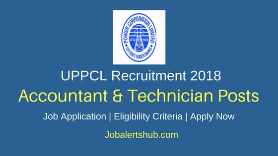 UPPCL 2018 Accountant, Technician Grade 2