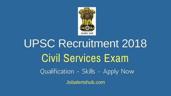 UPSC-Civil-Services-Jobs-2018-Recruitment-Notification
