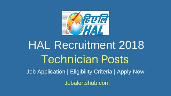 Hindustan Aeronautics Limited Technician Recruitment 2018