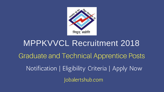 MPPKVVCL Jabalpur Graduate and Technical Apprentice Recruitment 2018