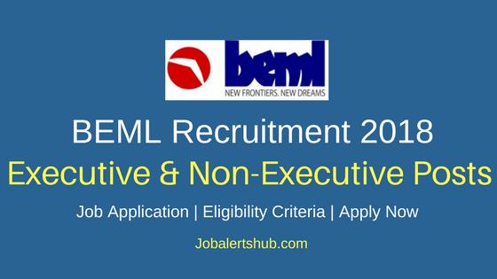 BEML Diploma Trainee & Engineer Recruitment 2018 Notification