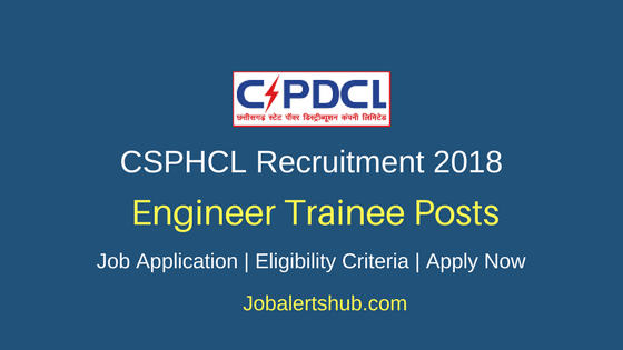 CSPHCL Assistant & Junior Engineer Trainee Recruitment 2018