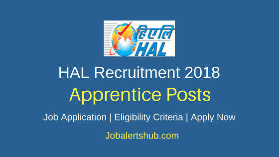 HAL Graduate Diploma Apprentice Recruitment 2018 Job Notification