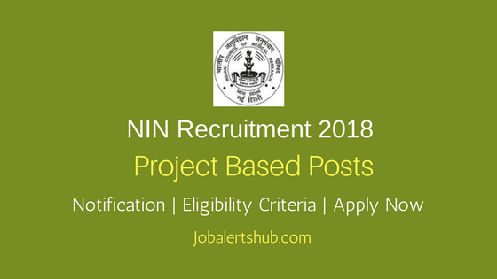NIN Projects Assistant & Project Technician Recruitment 2018