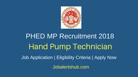 PHED Harda Handpump Technician Recruitment 2018 Govt. Jobs-12