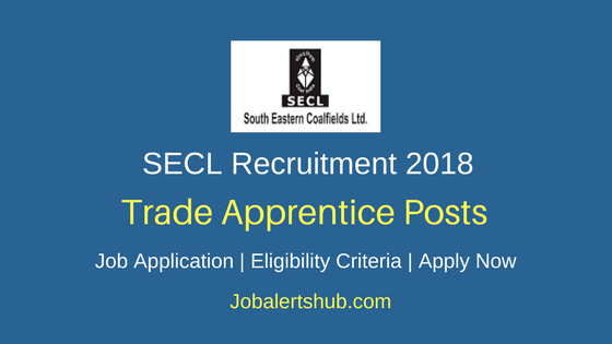 SECL Trade Apprentice Recruitment 2018