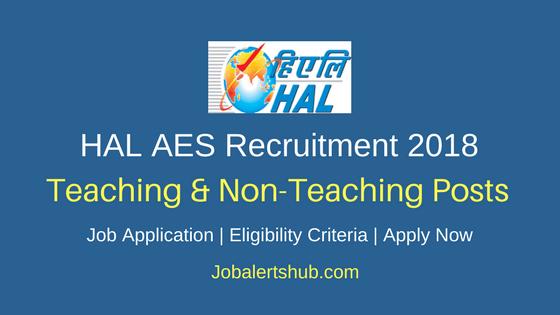 AES HAL Sunabeda Teaching & Non-Teaching Recruitment 2018 Notification