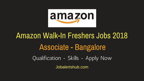 Amazon Walkin Associate Freshers Jobs