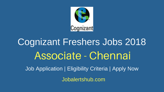 Cognizant Chennai Process Executive Fresher Jobs 2018
