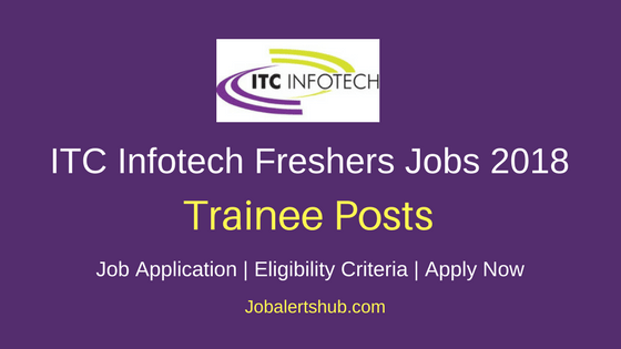 ITC Infotech Bangalore Excel Expert Fresher Jobs 2018