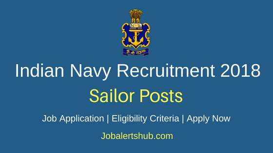 Indian Navy Sailor Recruitment Notification