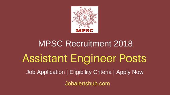 MPSC Assistant Engineer Recruitment Notification-1