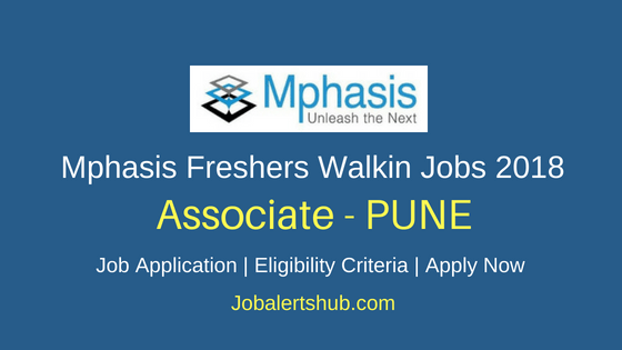 Mphasis IT Company Freshers Pune Associate Jobs