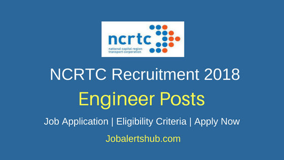 NCRTC Assistant Manager & Engineering Associate Recruitment 2018 Notification
