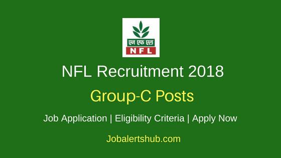 National Fertilizers Limited Group C Job Notification