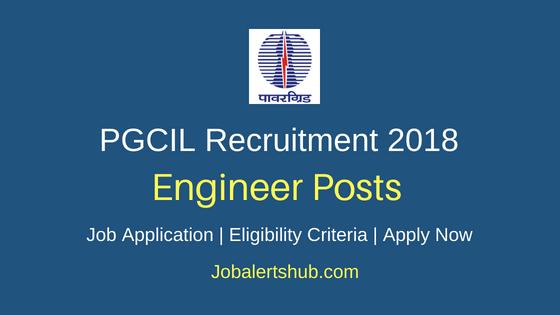 PGCIL Engineer Recruitment Job Notification