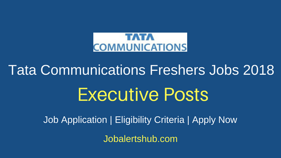 Tata Communications Customer Service Executive Jobs