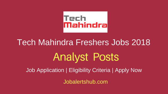 Tech Mahindra Mumbai Analyst Fresher Jobs 2018