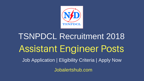 Telangana State Northern Power Distribution Company Limited Assistant Engineer Job Notification