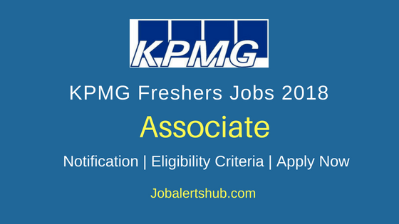 KPMG Global services private limited Associate Job Notification