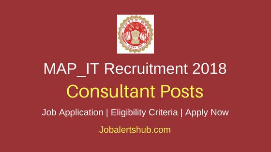 MAP_IT Consultant Job Notification