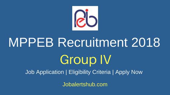 MPPEB/MP Vyapam Group IV Job Notification