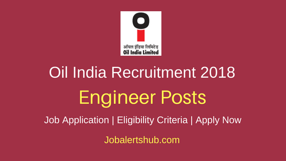 OIL India Limited Engineer Recruitment Notification