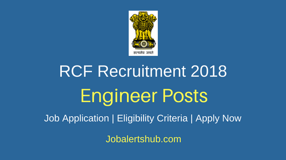 RCFL Engineer Job Notification
