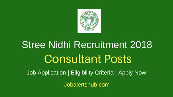 Stree Nidhi Consultant Recruitment Notification