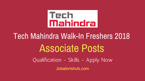 Tech Mahindra Pune Walkin Associate Freshers Jobs
