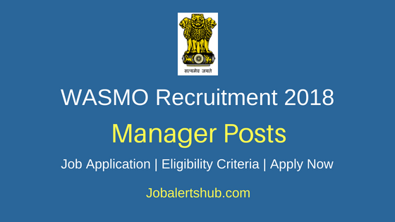 WASMO Managerial Job Notification