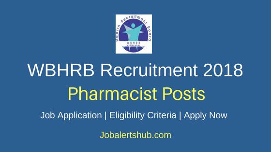 WBHRB Pharmacist Job Notification