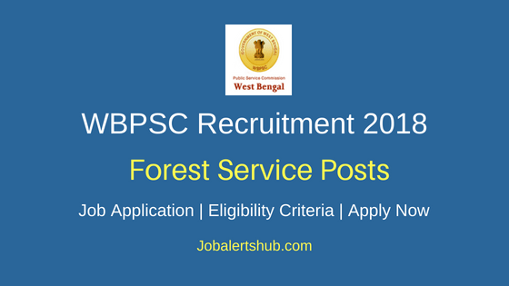 WBPSC WBFS & WBSFS Exam Recruitment Notification