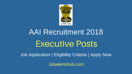 AAI Executive Job Notification