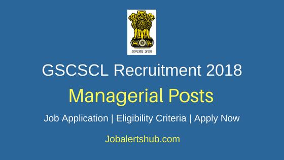 GSCSCL Manager Job Notification