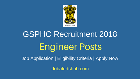 GSPHC Assistant Engineer Job Notification