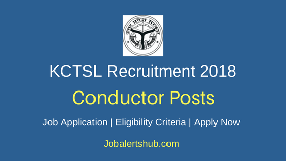 KCTSL Conductor Recruitment Notification