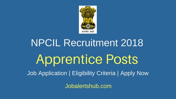 NPCIL Trade Apprentices Job Notification