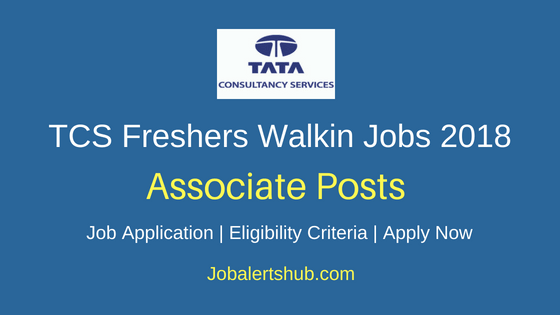 Tata Consultancy Services Associate Freshers Jobs