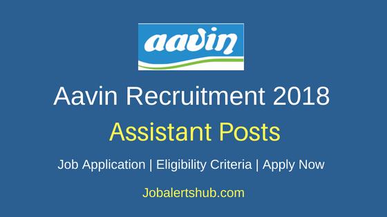 Aavin-Milk-Assistant-Recruitment-Notification