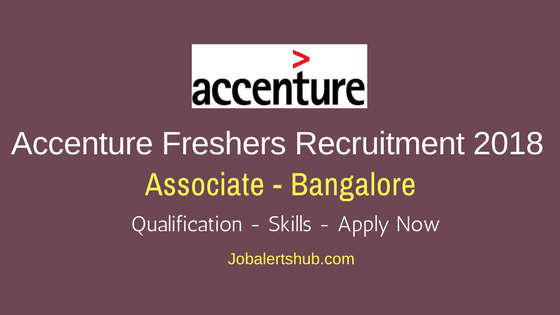 Accenture-Fresher-Jobs-In-Bangalore-Associate-Job-Announcement