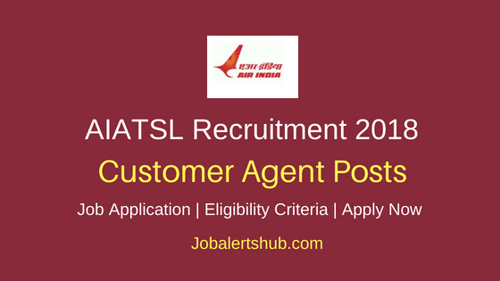 AIATSL Customer Agent Job Notification