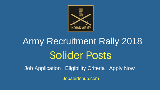 Army-Recruitment-Rally-Solider-Job-Notification
